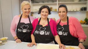 Paola Fraboni kockar italienskt i Mat och prat.