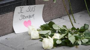 Terrorattentat i centrala Stockholm den 7 april 2017.