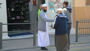 De flesta muslimer röstade på Mélenchon i valets första omgång.