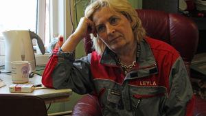 Leila Koivurannalla on pitkä kokemus siiman koukuttamisesta.