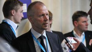 VPS:s chefstränare Olli Huttunen 1.4.2014