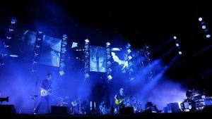 Radiohead live 2016.