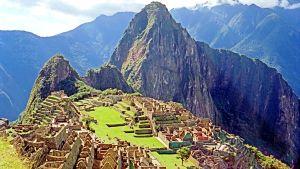 Maisema Machu Picchulta