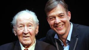 Riko Eklundh och Börje Lampenius.