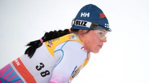 Krista Pärmäkoski under världscupveckan i Ruka.