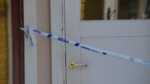 Inbrott i pälsaffären i Borgå