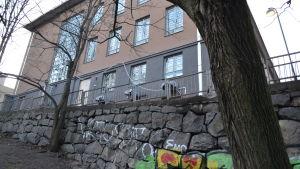 Franzenia-huset i Berghäll.