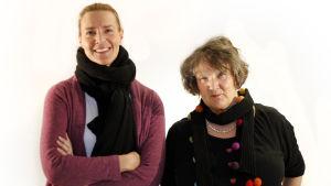 Daniela Andersson och Monika Fagerholm i Fredagssnack.