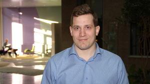 Benny Öhman är chef för betalningslösningar på nätet på Svea ekonomi.