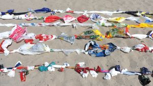 Miljökampanj mot plast i Tyskland 2013