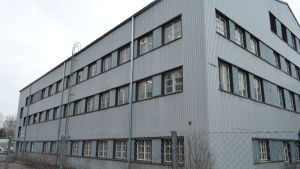 Den gamla keramikfabriken ägs av ett privat företag.
