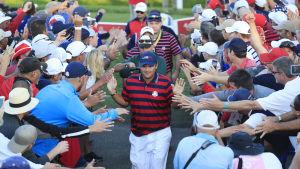 Ryder Cup är en golftävling mellan USA och Europa.