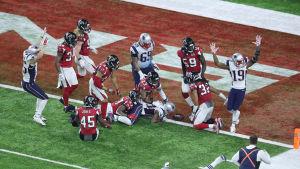 New England Patriots besegrade Atlanta Falcons i Super Bowl.