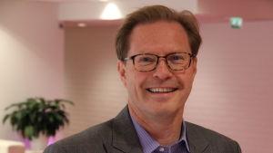 Stefan Haglund är vd för Odin fonder i Finland.