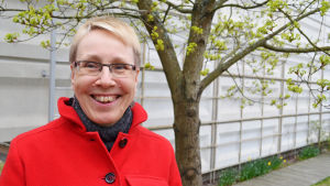 Marja Rikaniemi , biträdande rektor för finskt högstadium i Botby, maj 2015