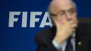 Fifa och Sepp Blatter.
