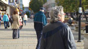 Åldringar på gatan