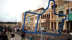 Den 12:e konstbiennalen i Havanna, Kuba