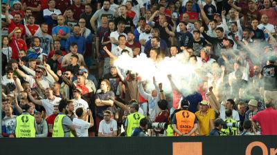 Polisen hoppas pa lugna ryska fans