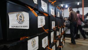 ugandisk röstsedel
