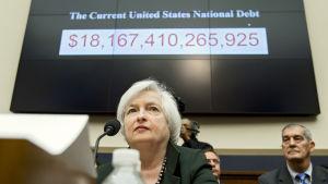 Federal Reserves ordförande Janet Yellen utfrågas i Kongressen 15 JULI 2015