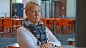 Marika Koivunporras-Jansén, ledare för studerandevården på yrkesskolan Prakticum.