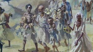 tavla om svält
