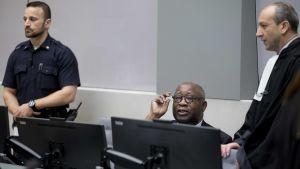 Gbagbo är den första före detta statschefen som ställs inför ICC.