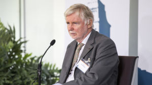 Riksdagsledamoten Erkki Tuomioja, socialdemokraterna