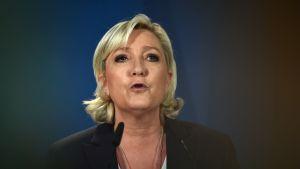 Marine Le Pen, partiledare för Front National (Nationella fronten).