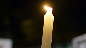 Ett ljus.