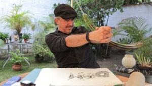 Meksikolainen pilapiirtäjä Ángel Boligán