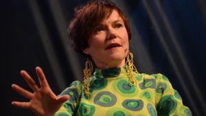 Kirjailija Rosa Liksom