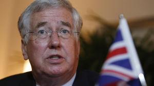 Storbritanniens försvarsminister Michael Fallon
