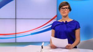 Yle Novostin uutistenlukija