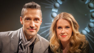 Janne Engblom och Hannah Norrena.