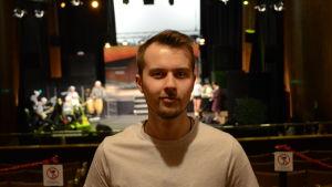 Thomas Hällund är regissör för Wasaspexet år 2017