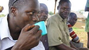 män i norra uganda