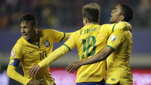 Brasilien firar