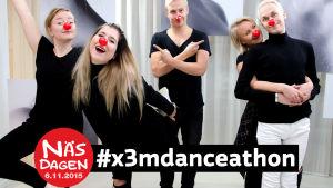 Danceathon under Näsdagen 2015.