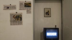 Utställningen Dysterbotten på Myymälä2 i Helsingfors
