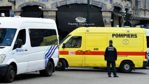 Skottlossning nära Judiska museet i Bryssel