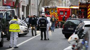 Andra skjutningen i Paris.