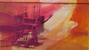 Andy Warhol Electric Chair 1971 ur Matti Koivurinta-stiftelsens konstsamling