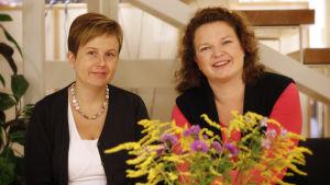 Annette Ström och Sanna Lindholm.