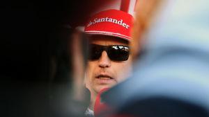 Kimi Räikkönen, mars 2016.