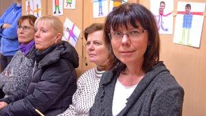 Utbildningsnämndens ordförande Anna Aintila (SFP) i Kyrkslätt.