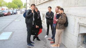 Studerade i Lyon låter bli att rösat på söndag.