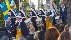 Kuningasperhe tulee Skansenille juhlimaan kansallispäivää