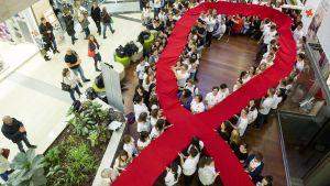 Världsaidsdagen uppmärksammas i Ungern 2014